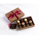 Mixed Chocolate Truffle Gift Box