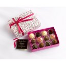 Meduim Handmade Chocolates Floral Box
